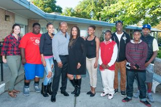 Don and Hazel Cameron with 4C youth